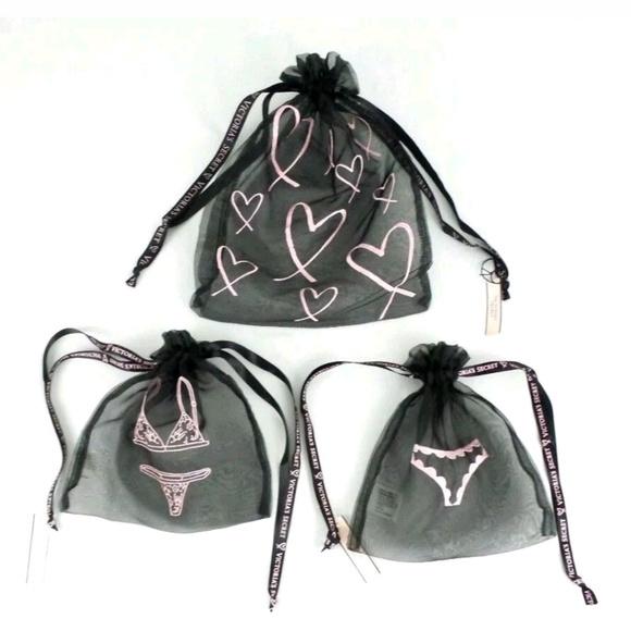 88fb672d1b Victoria s secret lingerie bag x 3